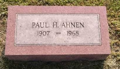 AHNEN, PAUL H. - Adair County, Iowa | PAUL H. AHNEN