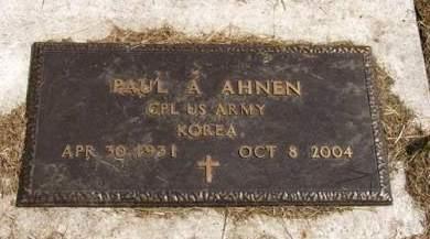 AHNEN, PAUL A. - Adair County, Iowa   PAUL A. AHNEN