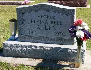 ALLEN, ELVINA BELL - Adair County, Iowa | ELVINA BELL ALLEN
