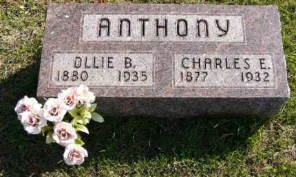 ANTHONY, CHARLES E. - Adair County, Iowa | CHARLES E. ANTHONY