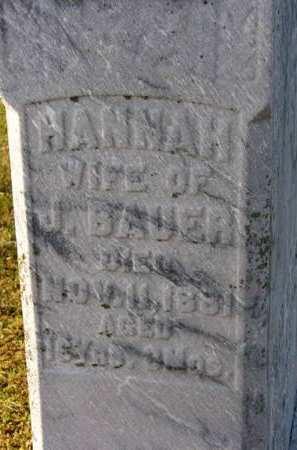 BAUER, HANNAH - Adair County, Iowa | HANNAH BAUER