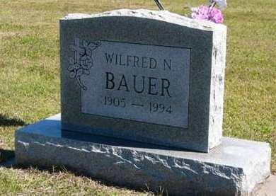 BAUER, WILFRED N. - Adair County, Iowa | WILFRED N. BAUER