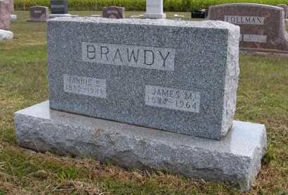 BRAWDY, FANNIE E. - Adair County, Iowa | FANNIE E. BRAWDY