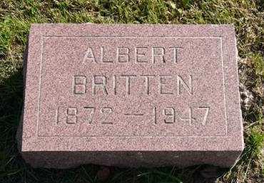BRITTEN, ALBERT - Adair County, Iowa | ALBERT BRITTEN