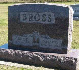 BROSS, LEONA E. - Adair County, Iowa | LEONA E. BROSS