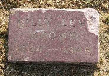 BROWN, BILLY LEVI - Adair County, Iowa | BILLY LEVI BROWN