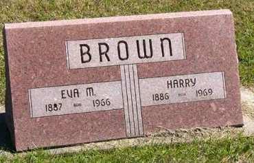 BROWN, EVA M. - Adair County, Iowa   EVA M. BROWN