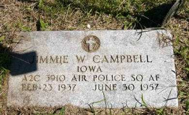 CAMPBELL, JIMMIE W. - Adair County, Iowa   JIMMIE W. CAMPBELL