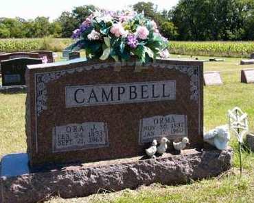 CAMPBELL, ORA J. - Adair County, Iowa | ORA J. CAMPBELL