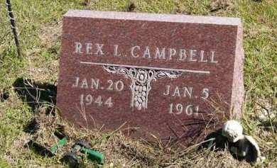 CAMPBELL, REX L. - Adair County, Iowa   REX L. CAMPBELL