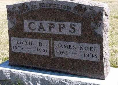 CAPPS, LIZZIE B. - Adair County, Iowa | LIZZIE B. CAPPS
