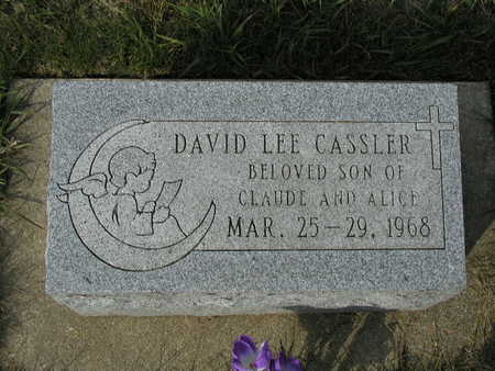 CASSLER, DAVID - Adair County, Iowa | DAVID CASSLER