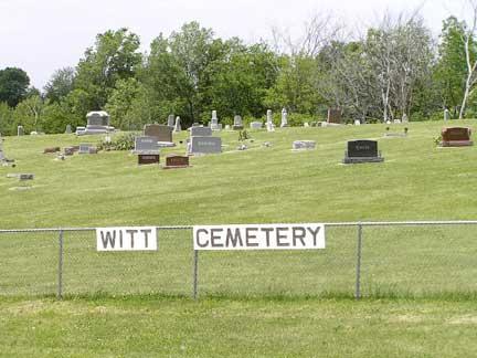 WITT, CEMETERY - Adair County, Iowa | CEMETERY WITT