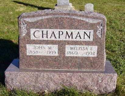 CHAPMAN, JOHN M. - Adair County, Iowa | JOHN M. CHAPMAN