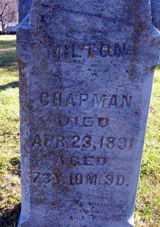 CHAPMAN, MILTON - Adair County, Iowa | MILTON CHAPMAN