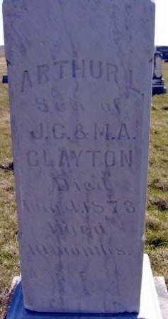 CLAYTON, ARTHUR L. - Adair County, Iowa | ARTHUR L. CLAYTON