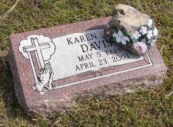DAVIS, KAREN JOY - Adair County, Iowa | KAREN JOY DAVIS