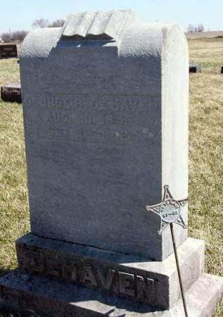 DEHAVEN, GEORGE R. - Adair County, Iowa | GEORGE R. DEHAVEN