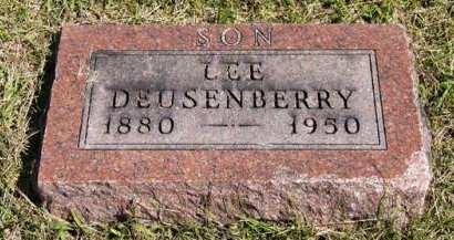 DEUSENBERRY, LEE - Adair County, Iowa | LEE DEUSENBERRY
