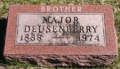 DEUSENBERRY, MAJOR - Adair County, Iowa | MAJOR DEUSENBERRY
