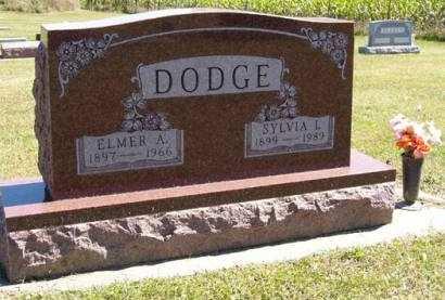 DODGE, SYLVIA I. - Adair County, Iowa   SYLVIA I. DODGE