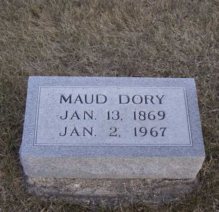 DORY, MAUD - Adair County, Iowa | MAUD DORY
