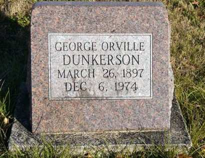 DUNKERSON, GEORGE ORVILLE - Adair County, Iowa | GEORGE ORVILLE DUNKERSON