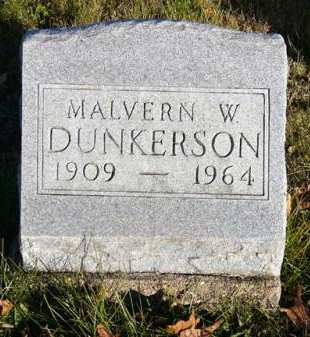 DUNKERSON, MALVERN W. - Adair County, Iowa | MALVERN W. DUNKERSON