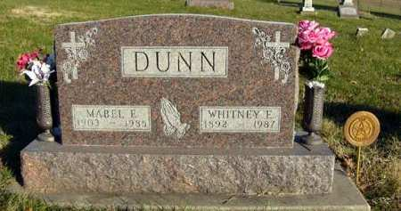 DUNN, MABEL E. - Adair County, Iowa | MABEL E. DUNN