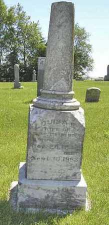 EMMONS, LOUISA E. - Adair County, Iowa   LOUISA E. EMMONS