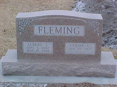 FLEMING, ALBERT - Adair County, Iowa | ALBERT FLEMING