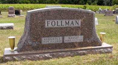 FOLLMAN, AUGUSTUS - Adair County, Iowa | AUGUSTUS FOLLMAN