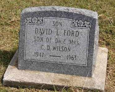 FORD, DAVID L. - Adair County, Iowa | DAVID L. FORD