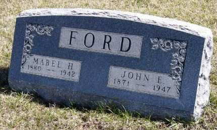 FORD, MABEL H. - Adair County, Iowa | MABEL H. FORD