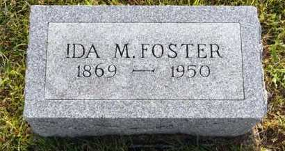 FOSTER, IDA M. - Adair County, Iowa | IDA M. FOSTER