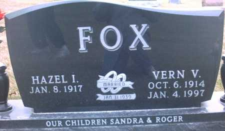 FOX, VERN  V. - Adair County, Iowa | VERN  V. FOX
