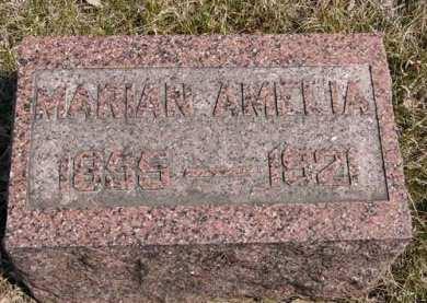FULLER, MARIAN AMELIA - Adair County, Iowa   MARIAN AMELIA FULLER