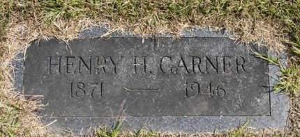 GARNER, HENRY H. - Adair County, Iowa   HENRY H. GARNER