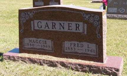 GARNER, FRED L. - Adair County, Iowa | FRED L. GARNER