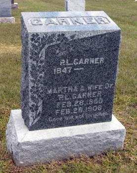 GARNER, MARTHA A. - Adair County, Iowa | MARTHA A. GARNER