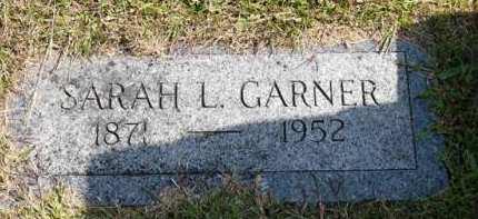 GARNER, SARAH L. - Adair County, Iowa | SARAH L. GARNER
