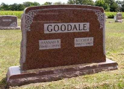 GOODALE, BEECHER H. - Adair County, Iowa | BEECHER H. GOODALE
