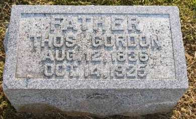 GORDON, THOMAS - Adair County, Iowa | THOMAS GORDON