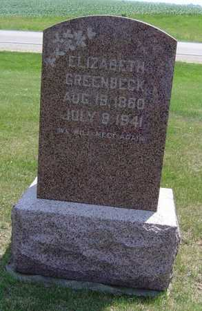 GREENBECK, ELIZABETH - Adair County, Iowa | ELIZABETH GREENBECK