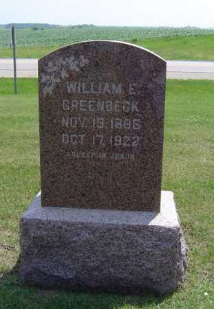 GREENBECK, WILLIAM E. - Adair County, Iowa | WILLIAM E. GREENBECK