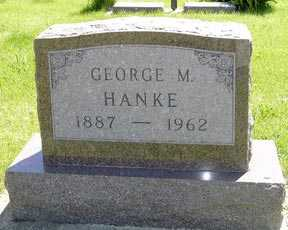 HANKE, GEORGE M. - Adair County, Iowa | GEORGE M. HANKE