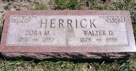 HERRICK, WALTER D. - Adair County, Iowa | WALTER D. HERRICK