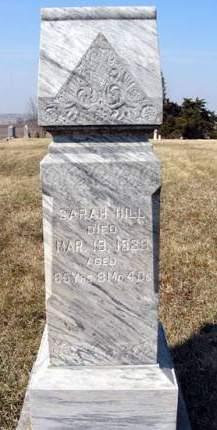 HILL, SARAH - Adair County, Iowa | SARAH HILL