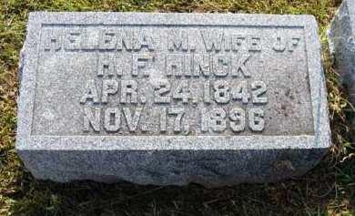 HINCK, HELENA M. - Adair County, Iowa | HELENA M. HINCK