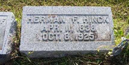 HINCK, HERMAN F. - Adair County, Iowa | HERMAN F. HINCK